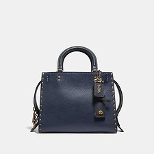Image of Coach Australia B4/MIDNIGHT NAVY ROGUE 25 WITH BORDER RIVETS