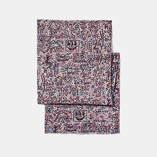 Picture of COACH X KEITH HARING EMBELLISHED SCARF