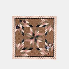 Picture of PATCHWORK SIGNATURE SQUARE
