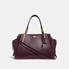 Image of Coach Australia B4/OXBLOOD DREAMER 36 WITH RIVETS