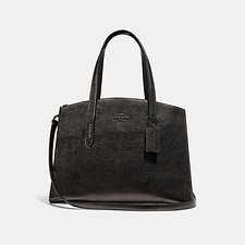Image of Coach Australia GM/METALLIC GRAPHITE CHARLIE CARRYALL
