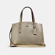 Image of Coach Australia GM/PLATINUM CHARLIE CARRYALL