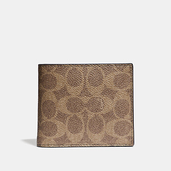 Image of Coach Australia  3-IN-1 WALLET IN SIGNATURE CANVAS