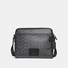 Picture of METROPOLITAN CAMERA BAG IN SIGNATURE CANVAS