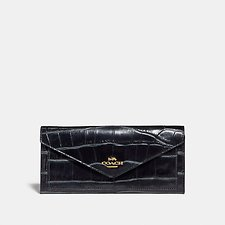 Image of Coach Australia LI/MIDNIGHT NAVY SOFT WALLET