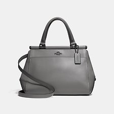 Image of Coach Australia DK/HEATHER GREY GRACE BAG