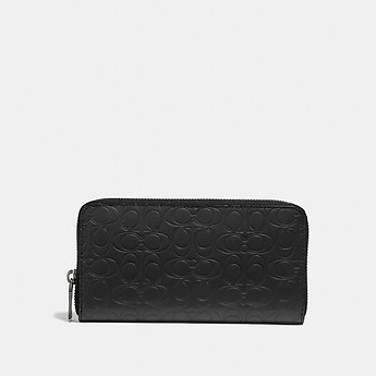 Image of Coach Australia  ACCORDION WALLET IN SIGNATURE LEATHER