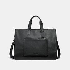 Image of Coach Australia QB/BLACK METROPOLITAN SOFT BRIEF