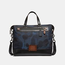 Image of Coach Australia JI/DENIM ACADEMY HOLDALL IN CORDURA® FABRIC WITH WILD BEAST PRINT
