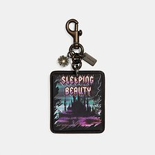 Image of Coach Australia BK/MULTI DISNEY X COACH SLEEPING BEAUTY BAG CHARM