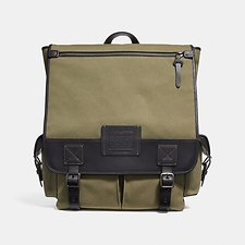 Image of Coach Australia JI/ARMY GREEN SCOUT BACKPACK