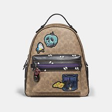 Picture of DISNEY X COACH CAMPUS BACKPACK IN SIGNATURE PATCHWORK