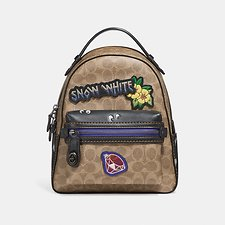 Picture of DISNEY X COACH CAMPUS BACKPACK 23 IN SIGNATURE PATCHWORK