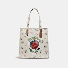 Picture of DISNEY X COACH POISON APPLE TOTE