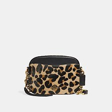 Picture of CAMERA BAG WITH LEOPARD PRINT