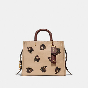 Image of Coach Australia  ROGUE WITH ROSE APPLIQUE
