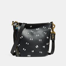 Picture of DISNEY X COACH DUFFLE 20 WITH SPOOKY EYES PRINT