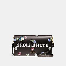 Picture of DISNEY X COACH SNOW WHITE FOLDOVER CROSSBODY CLUTCH