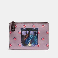 Image of Coach Australia BP/JASMINE DISNEY X COACH SNOW WHITE TURNLOCK POUCH 26