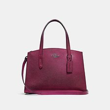 Image of Coach Australia GM/METALLIC BERRY MULTI CHARLIE CARRYALL 28