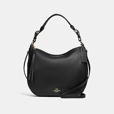 Image of Coach Australia GD/BLACK SUTTON HOBO