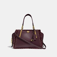 Image of Coach Australia B4/OXBLOOD DREAMER WITH RIVETS