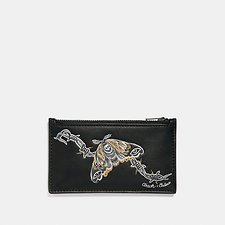 Picture of ZIP CARD CASE WITH TATTOO