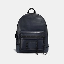 Image of Coach Australia MW/DARK NAVY ACADEMY BACKPACK WITH WHIPSTITCH