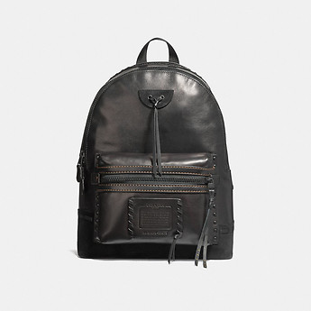 Image of Coach Australia  ACADEMY BACKPACK WITH WHIPSTITCH