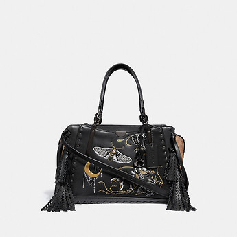 Image of Coach Australia  DREAMER IN SIGNATURE CANVAS WITH TATTOO
