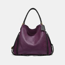 Image of Coach Australia B4/PLUM EDIE SHOULDER BAG 42