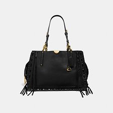 Image of Coach Australia B4/BLACK DREAMER TOTE 34 WITH WHIPSTITCH
