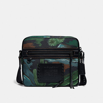 Image of Coach Australia  DYLAN 27 IN CORDURA® FABRIC WITH LANDSCAPE PRINT
