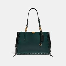 Image of Coach Australia B4/EVERGREEN DREAMER TOTE 34 IN COLORBLOCK