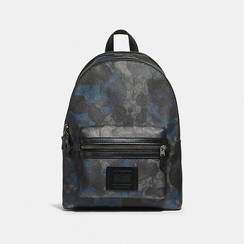 Image of Coach Australia  ACADEMY BACKPACK IN SIGNATURE WILD BEAST PRINT