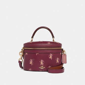 Image of Coach Australia  TRAIL BAG WITH PARTY MOUSE PRINT