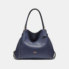 Image of Coach Australia  EDIE SHOULDER BAG 31 WITH RIVETS
