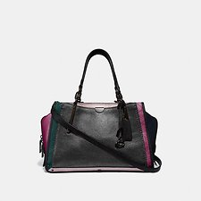 Image of Coach Australia V5/METALLIC GRAPHITE MULTI DREAMER IN COLORBLOCK