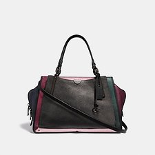 Image of Coach Australia V5/METALLIC GRAPHITE MULTI DREAMER 36 IN COLORBLOCK
