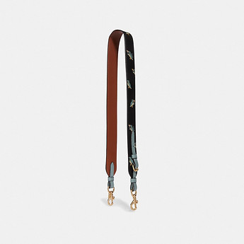Image of Coach Australia  STRAP WITH PARTY OWL PRINT