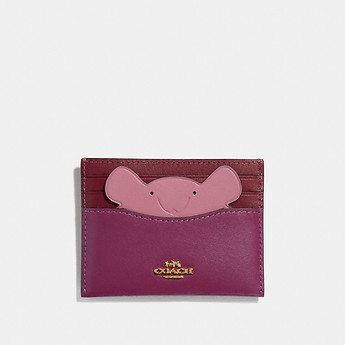 Image of Coach Australia  CARD CASE WITH MOUSE