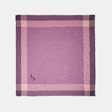 Image of Coach Australia ROSE ROSE FOIL WINDOWPANE CHALLIS