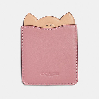 Image of Coach Australia  PIG PHONE POCKET STICKER