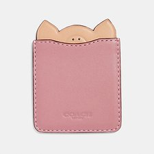 Image of Coach Australia ROSE PIG PHONE POCKET STICKER