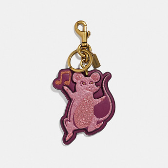 Image of Coach Australia  PARTY MOUSE BAG CHARM