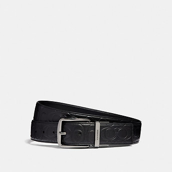 8a45a6e89b HARNESS CUT-TO-SIZE REVERSIBLE SIGNATURE LEATHER BELT