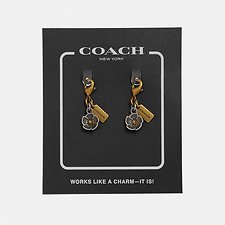 Image of Coach Australia GD/SILVER TEA ROSE SHOE CHARM