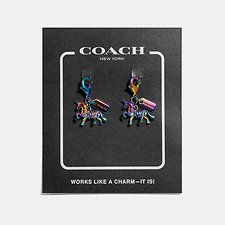Image of Coach Australia PVD/OIL SLICK UNI SHOE CHARM