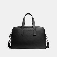 Image of Coach Australia QB/BLACK METROPOLITAN SOFT CARRYALL