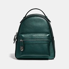 Image of Coach Australia GM/METALLIC IVY CAMPUS BACKPACK 23